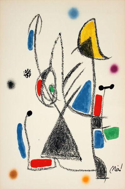 Joan Miró, 'Maravillas #1068-1975', 1975