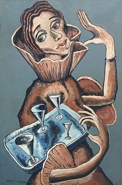 Rolph Scarlett, 'Four of Cups', ca. 1930