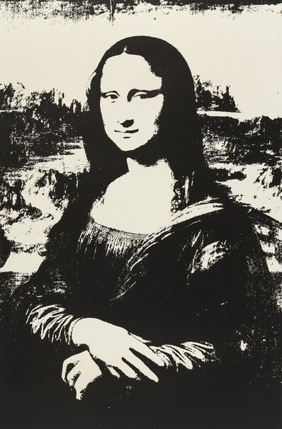 Andy Warhol, 'Mona Lisa (Black) (Sunday B. Morning)', 2019