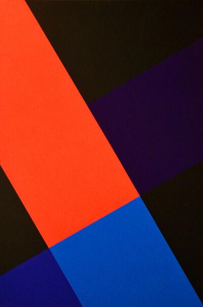 Waldo Balart, '7.3.2.1., 60° Negro. Nudo transversal', 2013-2015
