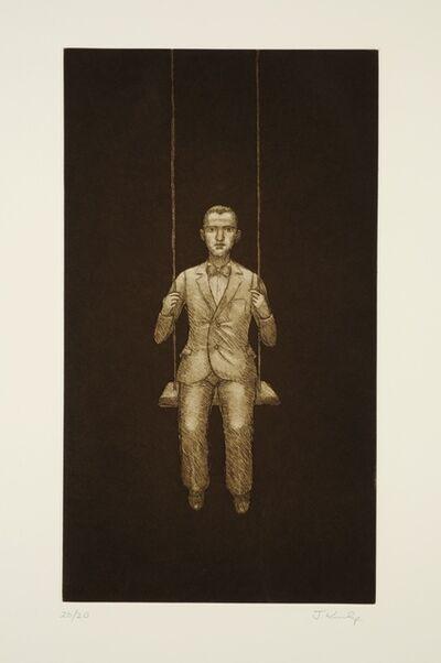 John Kirby, 'Man on a Swing', 2004