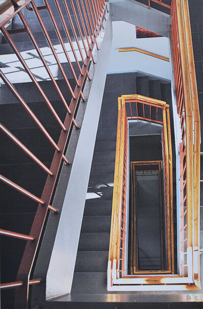 Leonard Aschenbrand, 'Our Staircase at Fountain House', 2012