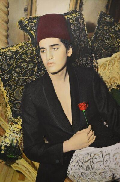 Youssef Nabil, 'Lonely Pasha, Cairo 2002', 2002