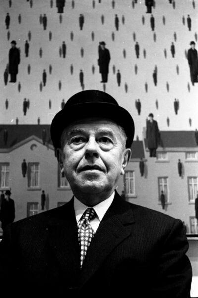Steve Schapiro, 'René Magritte, MoMA, New York', 1965
