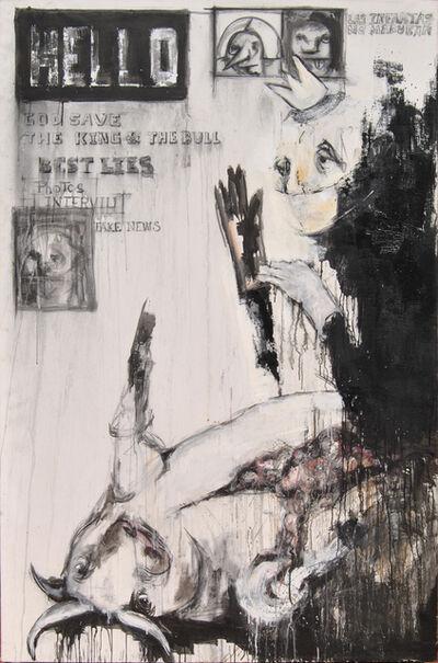 Raventos, 'King and Bull', 2018
