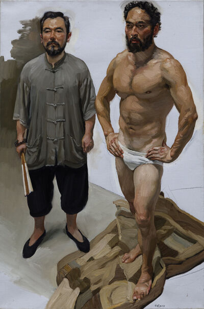 Chen Danqing, 'A Chief male model at the Oil Painting Institute ', 2013