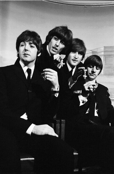 Julian Wasser, 'The Beatles in OBE London'