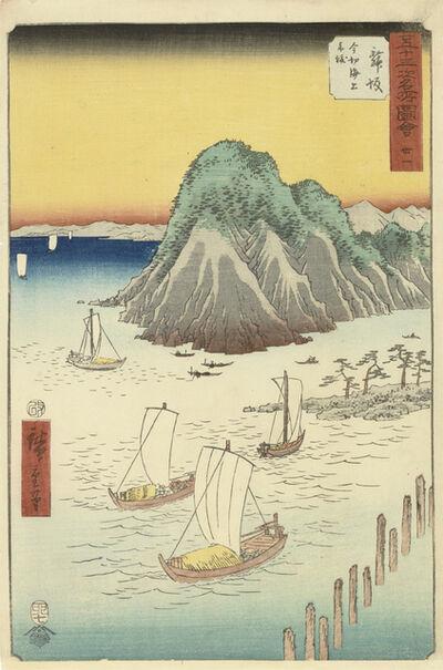 Utagawa Hiroshige (Andō Hiroshige), 'Maisaka', 1855