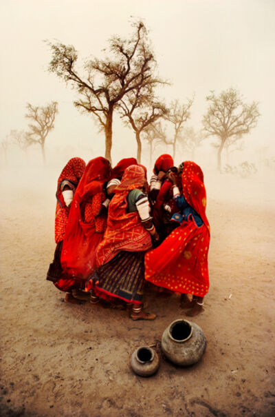 Steve McCurry, 'Dust Storm, Rajasthan, India', 1983