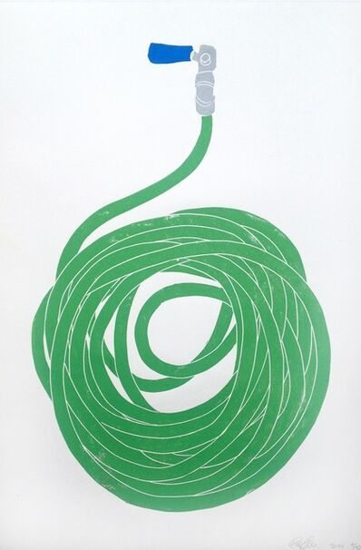 Rose Eken, 'Green Hose', 2014