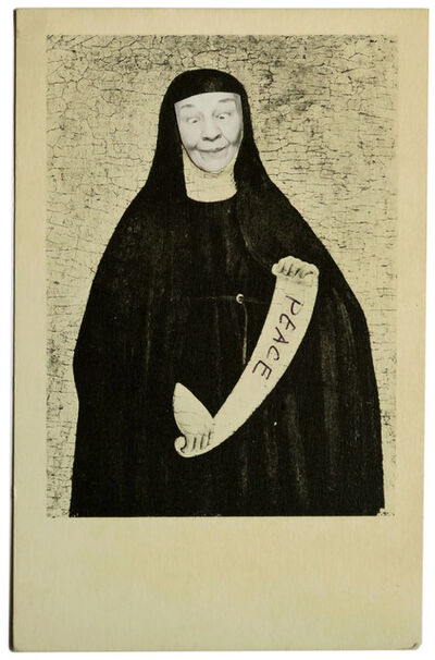 May Wilson, 'Ridiculous Portrait (Augustinian Nun)', 1965-1972