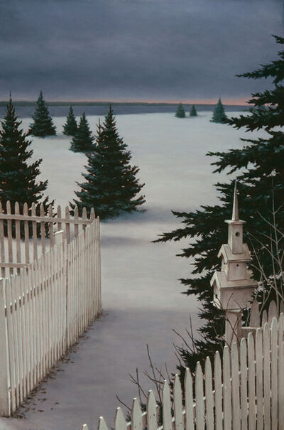 David Vickery, 'Winter Pickets ', 2018