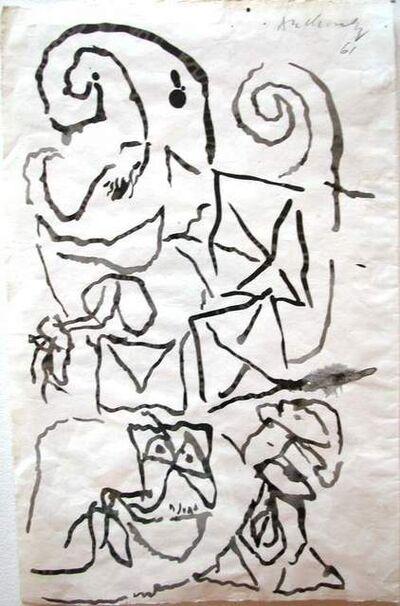 Pierre Alechinsky, 'Le fin', 1961