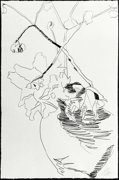 Andy Warhol, 'FLOWERS FS II.109 (BLACK AND WHITE', 1974