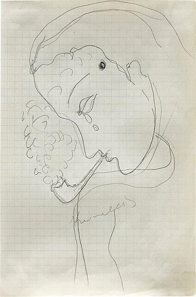 Jannis Kounellis, 'Self-portrait', 1980