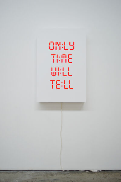 Kelly Mark, 'Only Time Will Tell', 2018