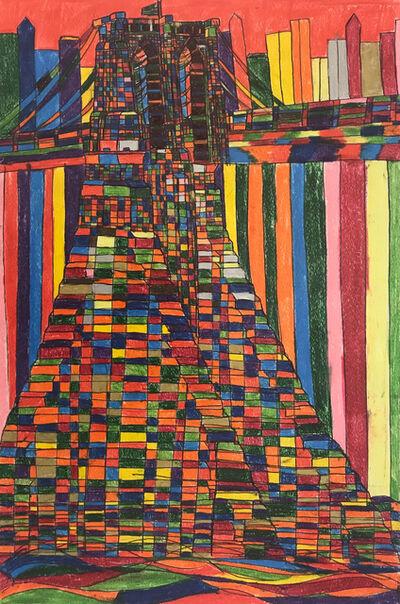 Robert Latchman, 'The Bridge With Different Blocks', 2018