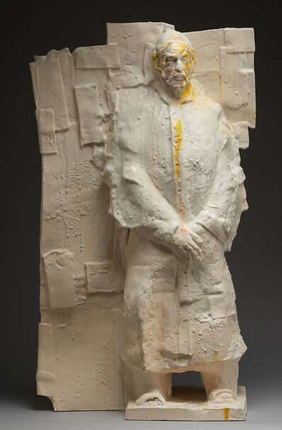Wanxin Zhang, 'Pope with Wall', 2013