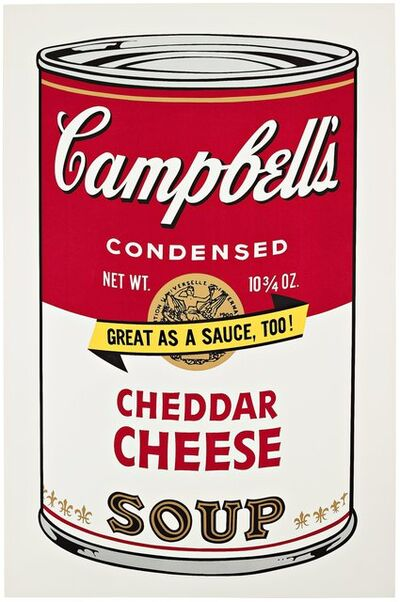Andy Warhol, 'Campbell's Soup II: Cheddar Cheese II.63', 1969