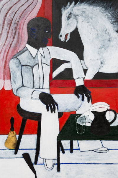 Abe Odedina, 'White Horse', 2016