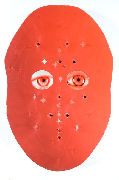 Tony Oursler, 'm_un', 2016