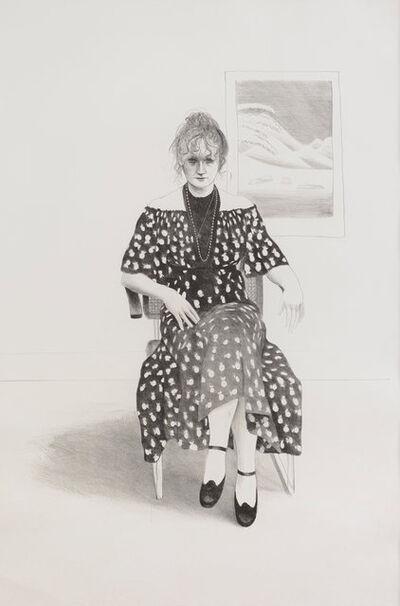 David Hockney, 'Celia, 8365 Melrose Avenue, Hollywood', 1973