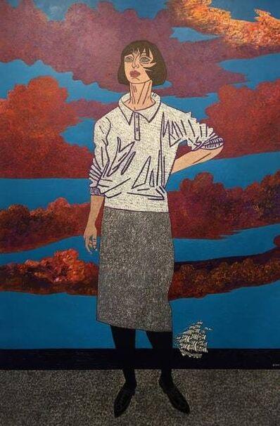 Vincent Bioulès, 'Carol', 1985-1987
