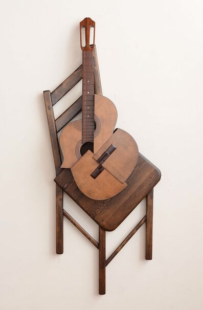 Koji Takei, 'Guitar and Chair ', 2013