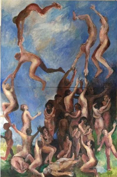 Carol Heft, 'Large Group', 2020