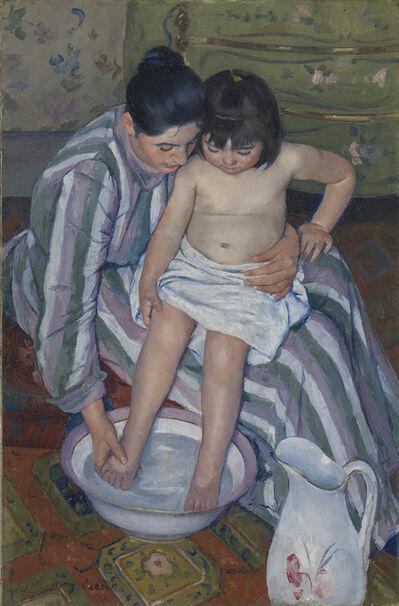 Mary Cassatt, 'The Child's Bath', 1893