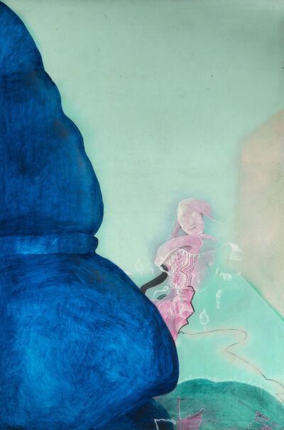 Eduardo Arranz-Bravo, 'Gran cortina blava a Estocolm', 1972