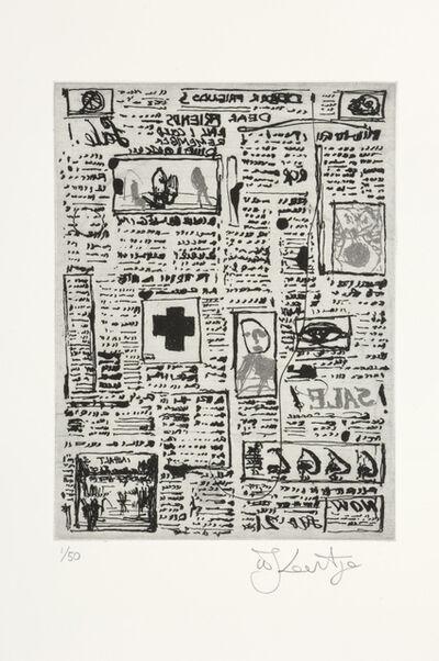 William Kentridge, 'Nose 5', 2007