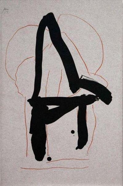 Robert Motherwell, 'Beau Geste VI', 1989