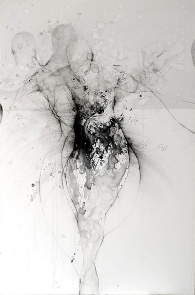 Nathalie Deshairs, 'En blanc', 2018