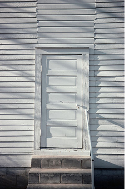 William Christenberry, 'Door, Havana Methodist Church, Havana, Alabama', 1976