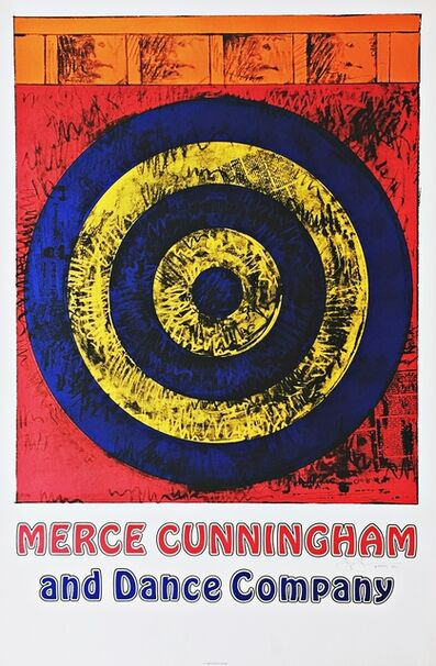 Jasper Johns, 'Merce Cunningham and Dance Company (Hand Signed)', 1968-1985