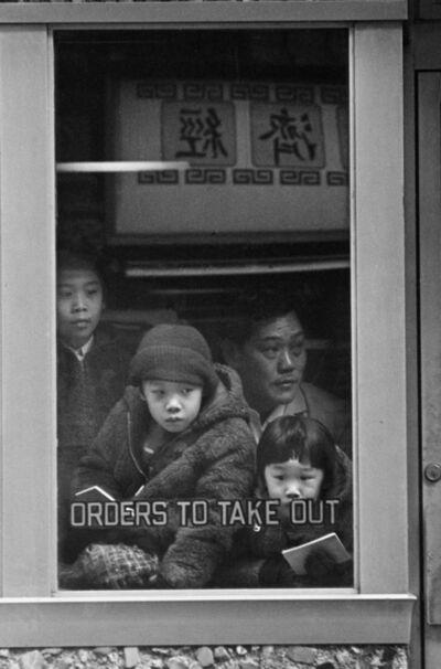 Masao Gozu, 'Pell Street (Chinatown), 3pm January 2nd', 1976