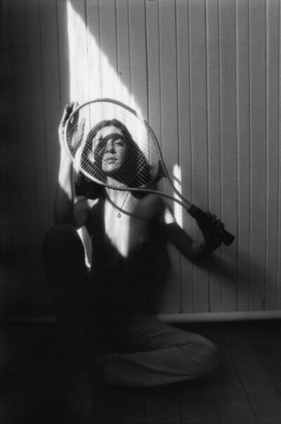 Sergei Borisov, 'Girl with a Tennis Racket', 1996