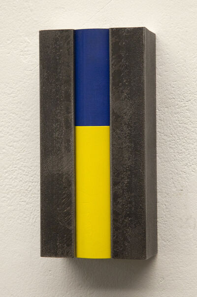 Cedric Christie, 'People of Colour (Blue/Yellow)', 2012