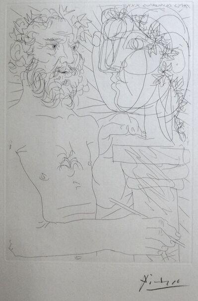 Pablo Picasso, 'Vieux Sculpteur au Travail II', 1933
