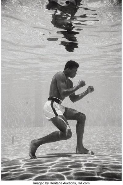 Flip Schulke, 'Ali Underwater', 1961