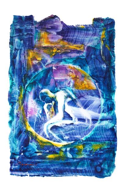 M.M. Ciciovan, 'Le Penseur (Hommage à Rodin)', 2017