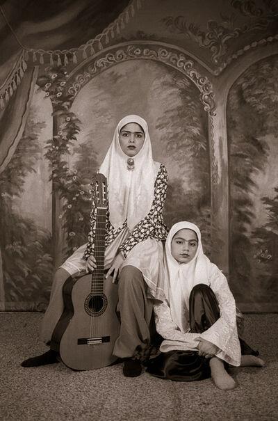 Shadi Ghadirian, 'Qajar #14', 1998