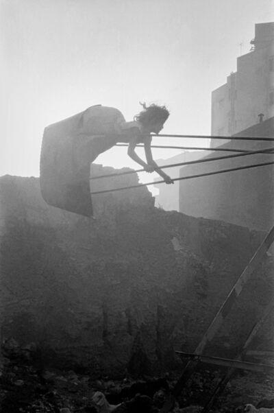 Frank Horvat, 'Cairo, Egypt, swinging girl', 1962