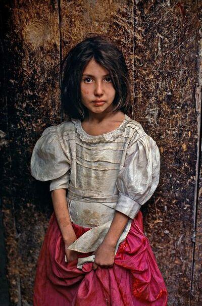Steve McCurry, 'Girl on Kabul Street, Pink Skirt, Afghanistan', 2002