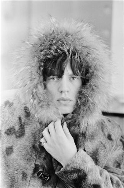Terry O'Neill, 'Mick Jagger Fur Hood 3', ca. 1964