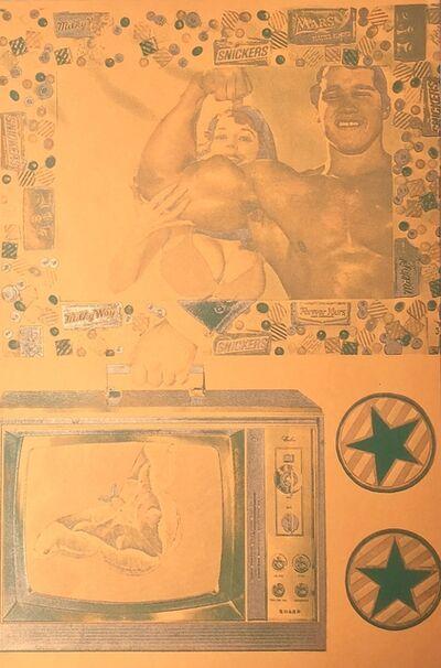 Eduardo Paolozzi, 'Llalla Pallooza... Image fades but memory lingers on...', 1965-1970
