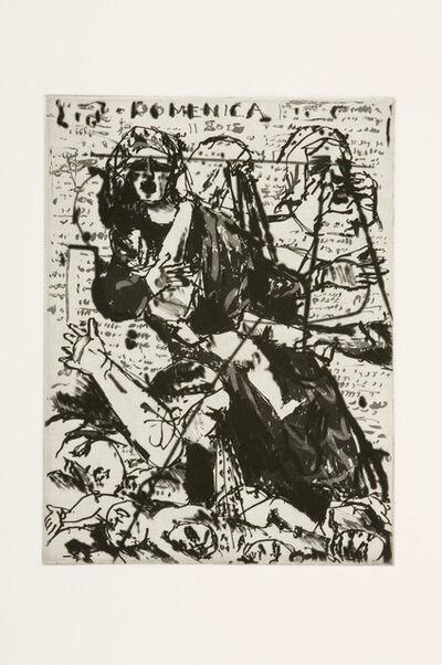William Kentridge, 'L'Inesorabile Avanzata: Massacre of the Innocents', 2007