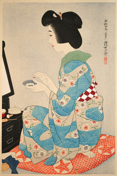 Itō Shinsui, 'Rouge', 1929