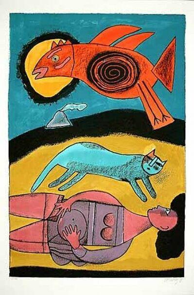 Guillaume Corneille, 'Le grand oiseau du désert', 1999